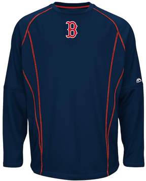Majestic Big & Tall Boston Red Sox Texture Fleece Pullover