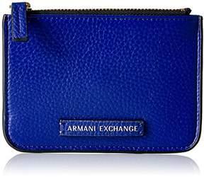 Armani Exchange A X Women's Pebble Pu Wallet Coin Purse