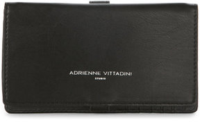 adrienne vittadini Black Charging Crossbody Wallet