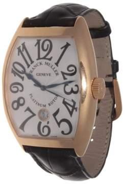 Franck Muller 8880 SC DT 18K Rose Gold Ivory Dial Mens Watch