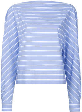 Dion Lee cross placket shirt