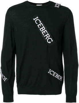 Iceberg logo patch jumper