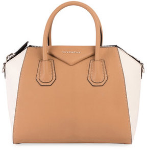 Givenchy Antigona Small Bicolor Satchel Bag