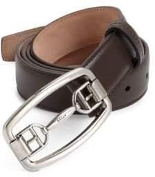 Bally Cornell Leather Bit Dress Belt