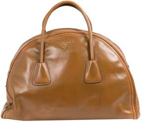Prada Leather weekend bag
