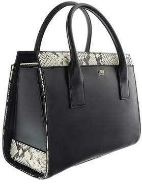 Roberto Cavalli Medium Handbag Lucille 002 Black Satchel Bag.