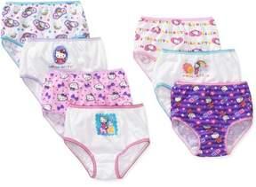 Hello Kitty Toddler Girl Underwear, 7-Pack