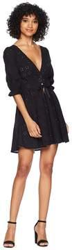 For Love & Lemons Spring Eyelet Swing Dress Women's Dress
