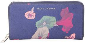 Marc Jacobs Women's Saffiano Morning Glories Continental Wallet