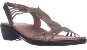 Easy Street Shoes Natara Slingback Sandals, Pewter.