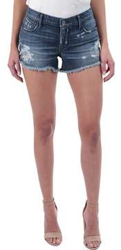 RtA Olivia Distressed Denim Short in Indie Wash (Women's)
