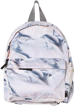 Molo White Sunset Dolphin Backpack