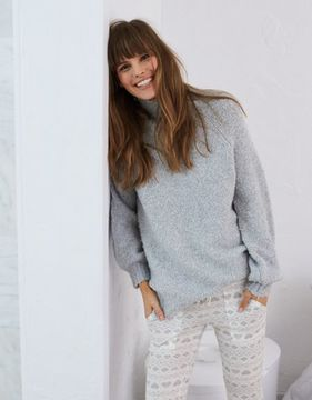 aerie Boucle Oversized Sweater