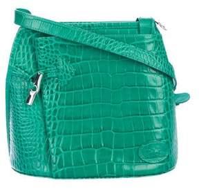 Longchamp Roseau Bamboo-Toggle Crossbody Bag