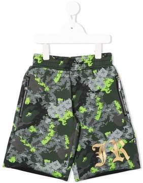 John Richmond Kids JR camouflage shorts