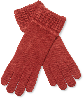 Portolano Women's Knitted Solid Gloves