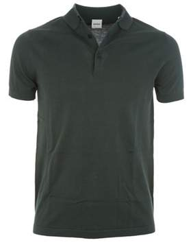 Aspesi Men's Green Cotton Polo Shirt.