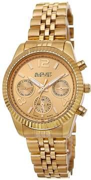 August Steiner Gold-Tone Ladies Watch AS8103YG