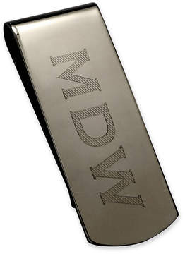 Asstd National Brand High Polished Personalized Mirror Finish Money Clip
