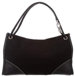 Tod's Nylon & Leather Tote