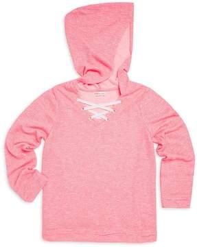 Design History for Girls Girl's Long-Sleeve Hooded Top
