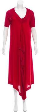Antonio Marras Short Sleeve Maxi Dress