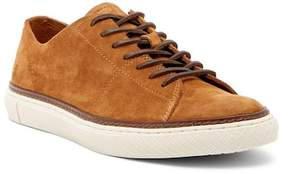 Frye Gates Low Lace-Up Suede Sneaker