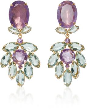 Bounkit Amethyst Two-Way Earrings
