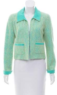 Chanel Mohair and Silk-Blend Jacket