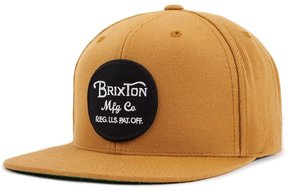 Brixton Wheeler Snapback - Copper