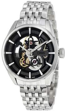 Oris Artix Automatic Black Skeleton Dial Men's Watch