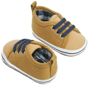 Osh Kosh Baby Boy Canvas Low Top Sneaker Crib Shoes