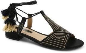 Kensie Katara Canvas Sandals