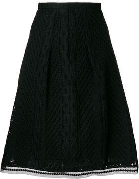 Ermanno Scervino knitted A-line skirt