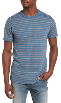 1901 Men's Jacquard Stripe Pocket T-Shirt