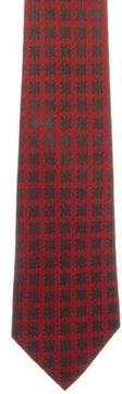 Hermes Silk Geometric Print Tie