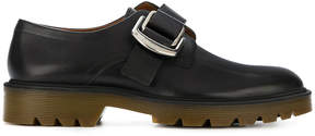 Givenchy oversized buckle monk shoes