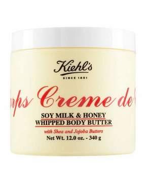 Kiehl's Since 1851 Crème de Corps Soy Milk & Honey Whipped Body Butter, 12.0 oz.