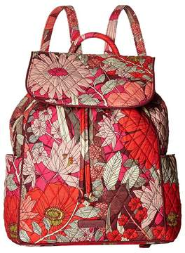 Vera Bradley Drawstring Backpack Backpack Bags - BOHEMIAN BLOOMS - STYLE