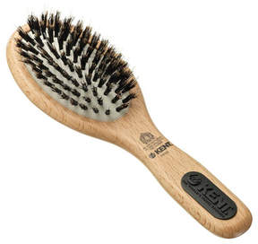 Kent Natural Shine Small Porcupine + Bristle Hairbrush - NS02