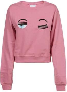 Chiara Ferragni Flirting Embroidered Sweatshirt