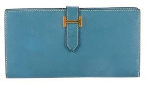 Hermes Epsom Bearn Wallet - BLUE - STYLE