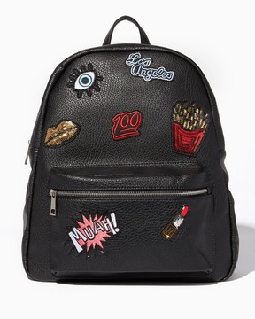Style Social Patch Backpack