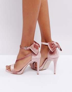 Miss KG Bow Trim Strappy Sandals