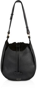 meli melo Alba Leather Shoulder Bag