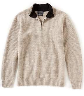 Pendleton Shetland Solid Half-Zip Pullover