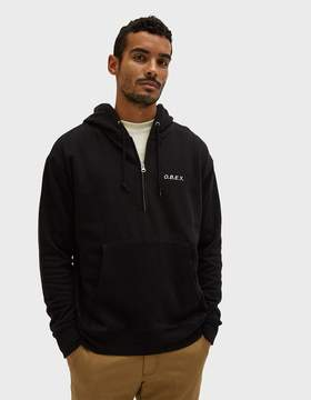 Obey Ennet Anorak Pullover in Black