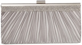 Jessica McClintock - Laura Pleated Satin Frame Clutch Clutch Handbags