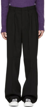 Ami Alexandre Mattiussi Black Large Trousers