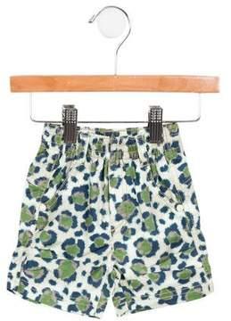 Kenzo Boys' Camo Bermuda Shorts w/ Tags